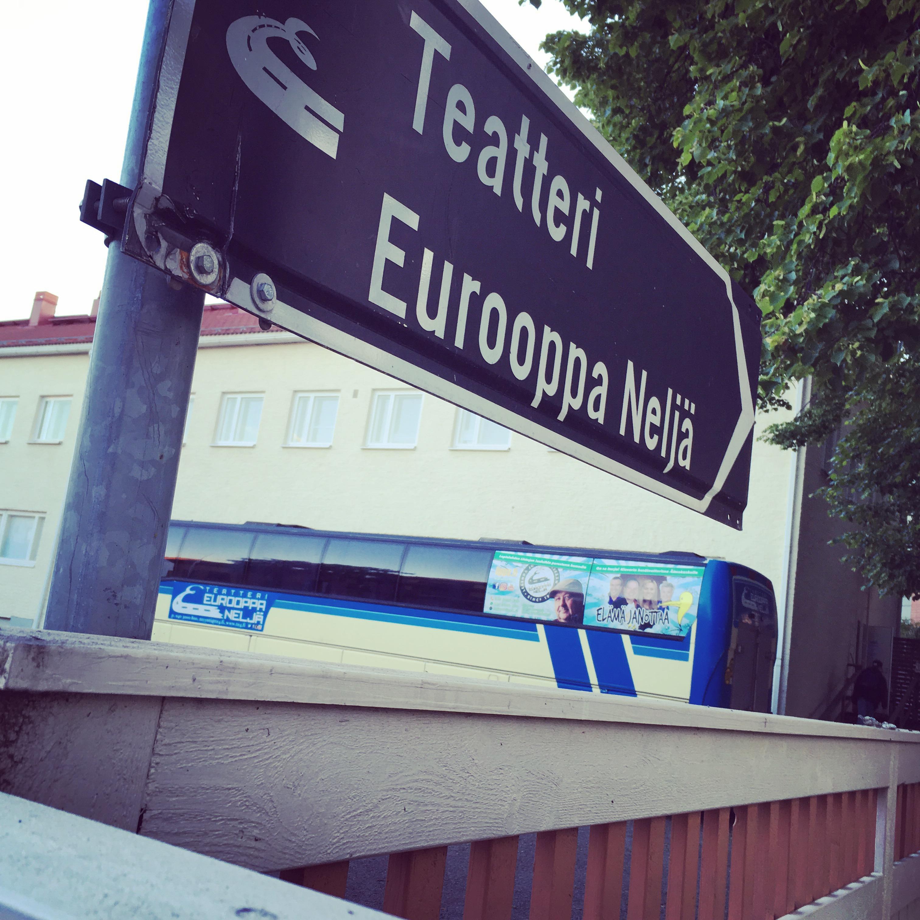 Teatteri Eurooppa Neljä